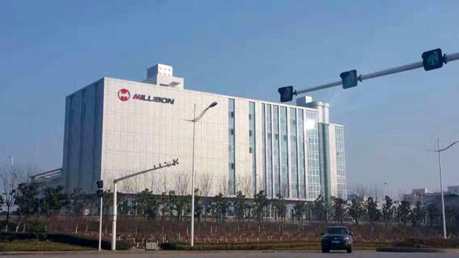 襄阳美利信新办公大楼办公家具案例