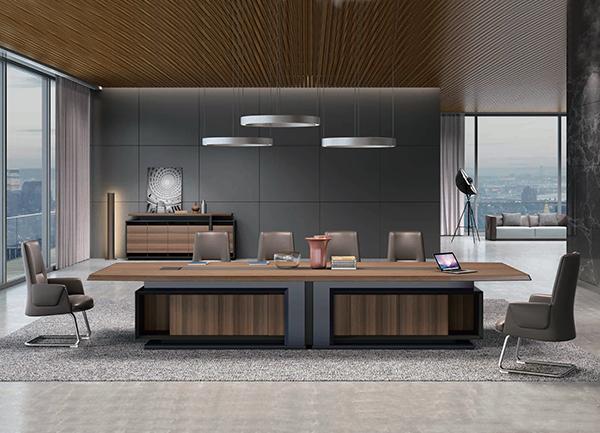 板木会议桌