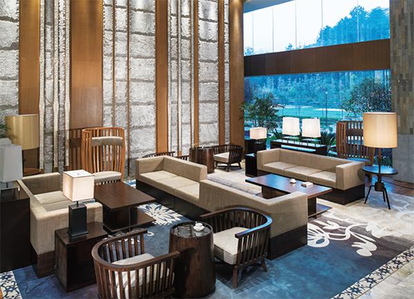 酒店大厅等候区休闲区家具