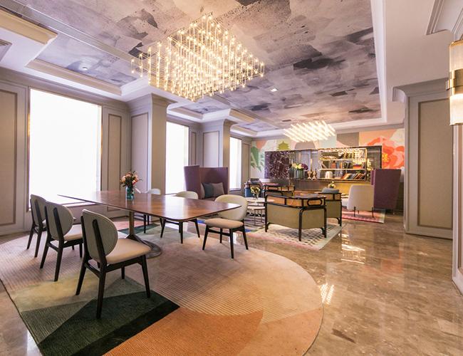 陕西西安酒店家具休闲椅