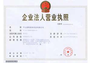 迪欧办公家具企业法人营业执照