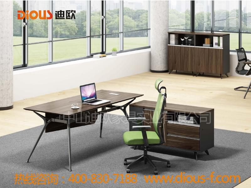 现代简约事业单位主管办公桌-经理组合办公桌AFL-D0128H