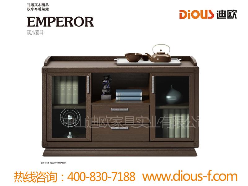 公司企业简约实木储物茶水柜ES-01H12