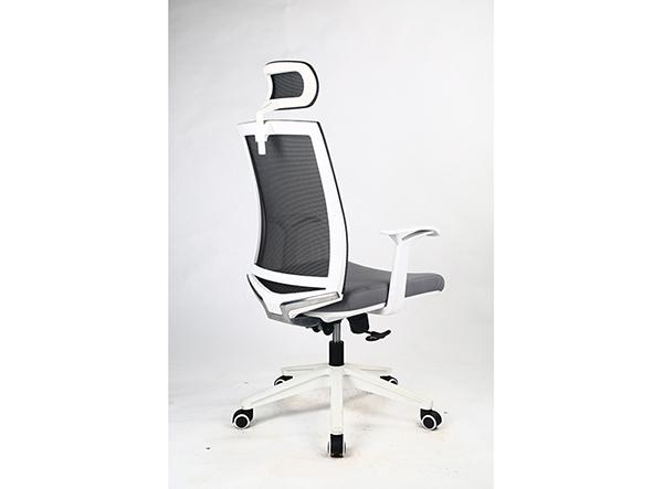 现代椅DX208白框