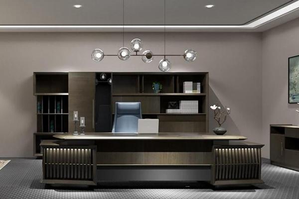 2021-商务办公桌-银河系列-迪欧家具