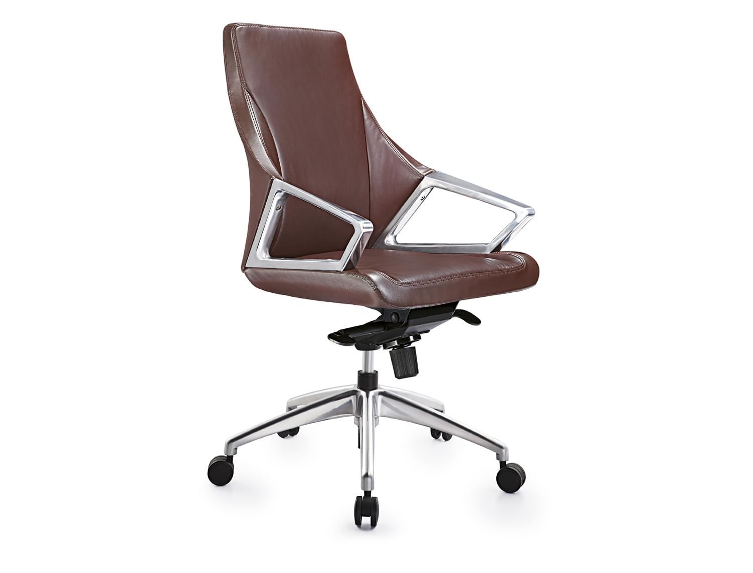 现代进口牛皮中班椅子DA-GS-G1901