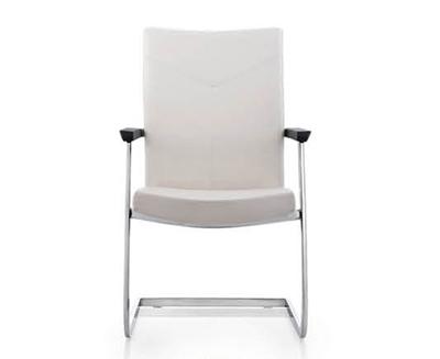 时尚白色总监经理办公班椅DA1528C