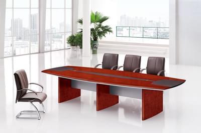 油漆胡桃木事业单位公司企业会议室区域洽谈台C8204S