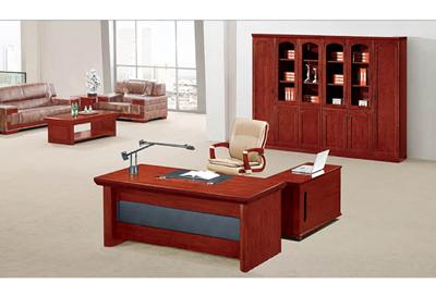 公司企业总监经理油漆酸枝木行政桌H8051D16