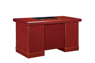 红色酸枝木政府机关专用办公行政桌D808216S