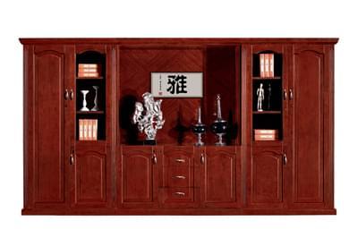 公司企业总裁总经理油漆酸枝文件柜S8206-1S