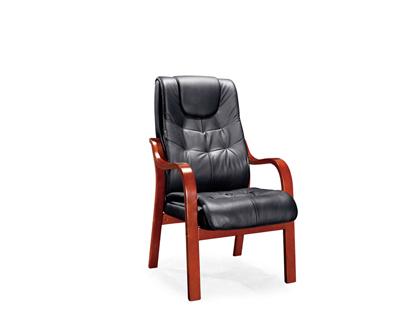 会议室接待洽谈黑色进口配套班椅SA134