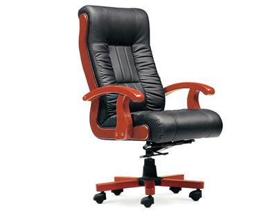 黑色主管经理可活动班椅SA154