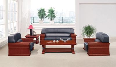 前台 公共休闲区油漆酸枝沙发 茶几SA8065S