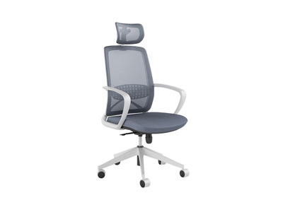 五星活动轮带靠头软体家具主管职员办公椅子DM1501