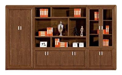 总裁办公室办公家具套装油漆鸡翅木文件柜U02S37