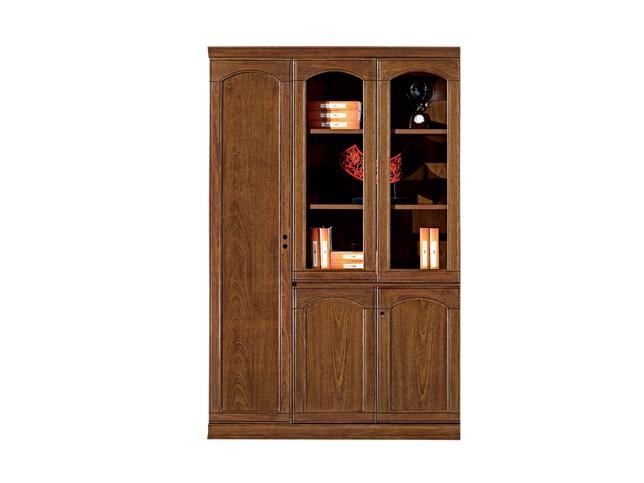 事业单位传统鸡翅木文件柜U606S13-4T