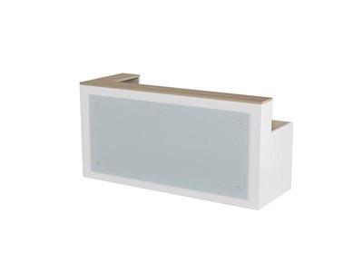 简洁胶板材质公司企业接待洽谈讲台ME- Q0122