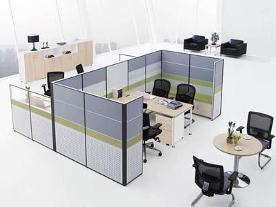 公司企业主管职员办公会议组合屏风卡位V7+V5-0202D