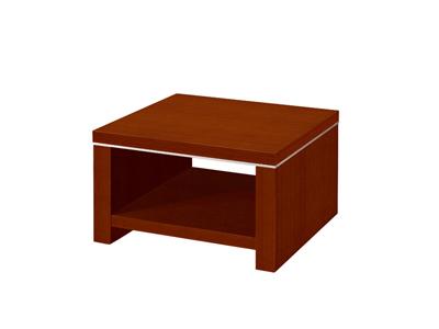 会议洽谈沙发配套油漆泰釉木方茶几G01F08