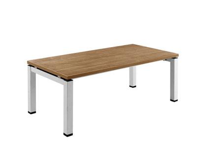 简洁型胶板接待洽谈区域茶几LQ-F0412
