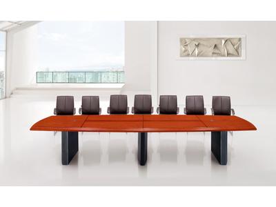 红色樱桃木会议室区域会议洽谈台C206Y