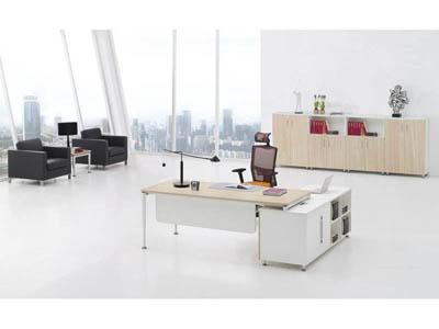 公司企业主管胶版材质办公桌椅KR1-D0122