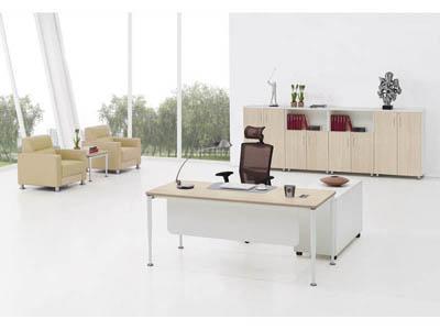 事业单位主管职员两米以下胶版办公桌椅KR1-D0220