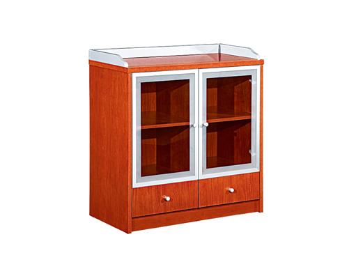 事业单位油漆樱桃木茶水柜H110Y