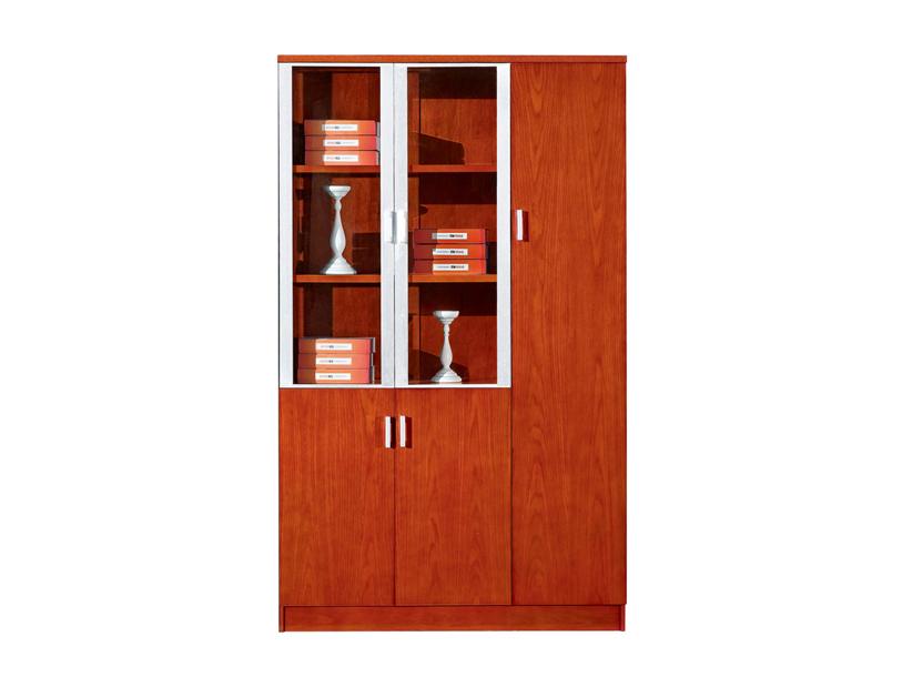 公司企业事业单位右开门油漆樱桃木文件柜S133-1YT