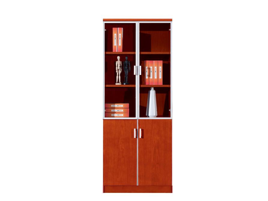 公司企业总监经理油漆樱桃木酒柜文件柜S182-1YT
