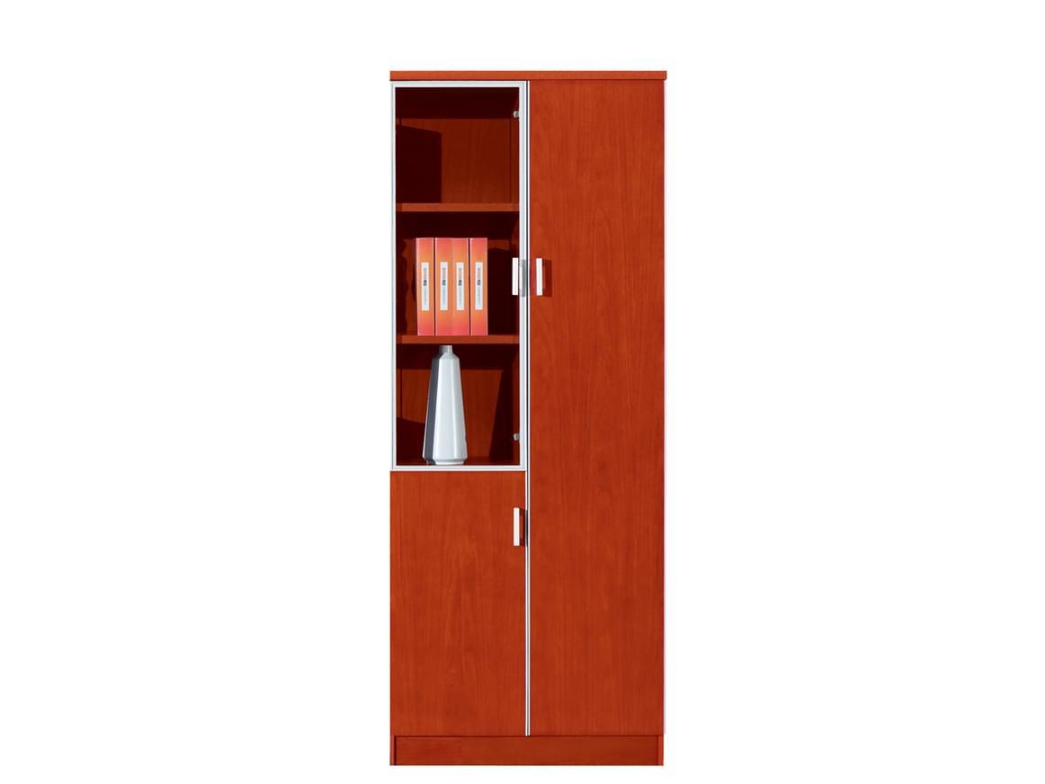 事业单位会议区域右开门现代简约樱桃木文件柜S182-2YT