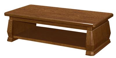 罗马柱设计理念总裁洽谈用鸡翅木长茶几U604F16