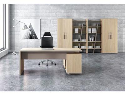 年轻风格公司总监胶版办公班台行政桌PR-01D19