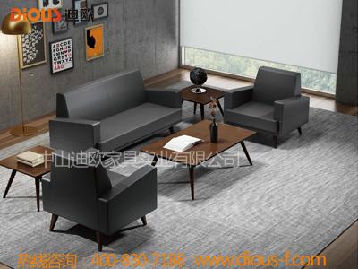 时尚小山纹会议室接待洽谈沙发套装EYF-01DA8