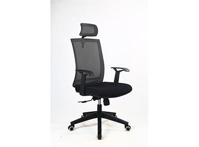 现代椅DX208黑框