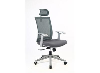 现代椅DX208灰框