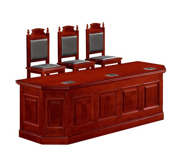 法院办公家具法庭法官台书记台C8265S