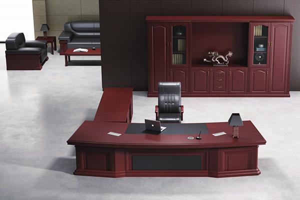 企业总经理组合大班台现代时尚商务风格ED811438S H