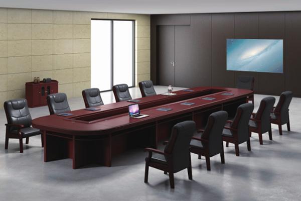 大会议室使用会议桌传统风格-EC8233-1S H