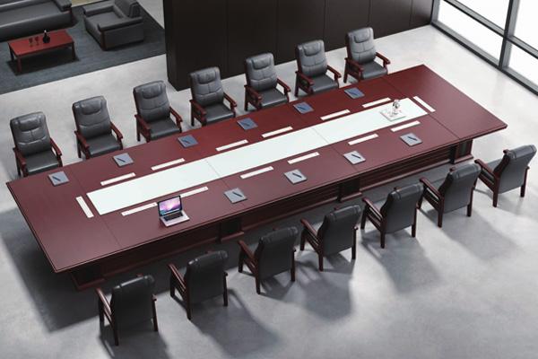 政府事业单位总经理会议室会议台-EC82235 HY