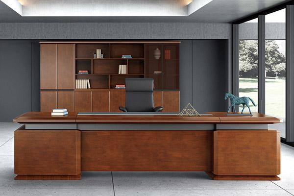 办公桌传统老板办公桌椅办公家具老板大班台君临