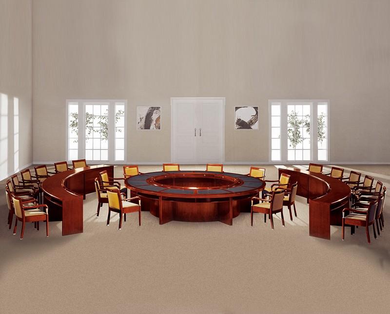 会议桌大型会议桌木制会议桌圆形会议桌