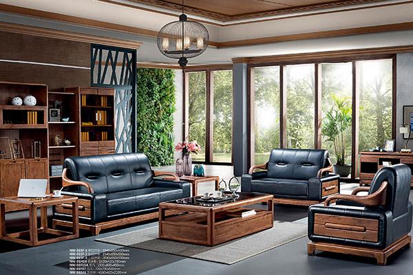 古典传统新款沙发 办公室办公沙发-挪威森林