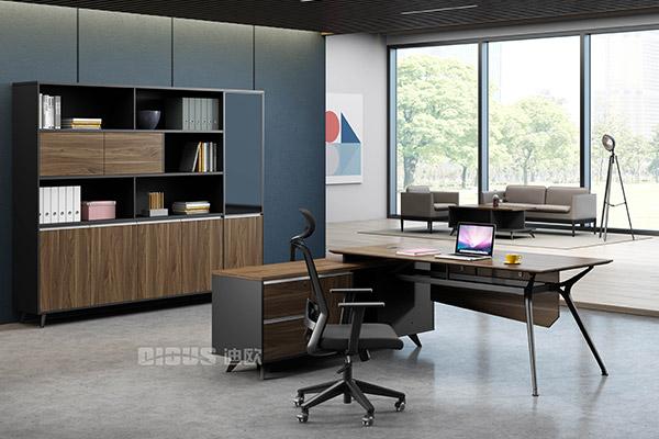 简约办公家具主管办公桌椅经理桌-菲尔德
