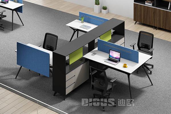 现代简约办公室办公桌组合桌椅-菲尔德