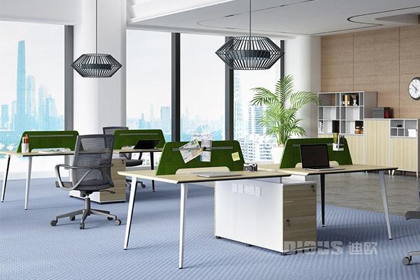 现代办公桌职员办公桌椅组合屏风卡位-锋度
