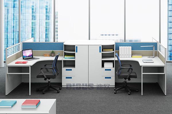 现代职员桌办公室工作桌-格爱