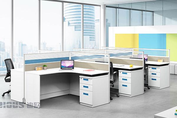 现代办公室职员办公桌员工桌-格爱