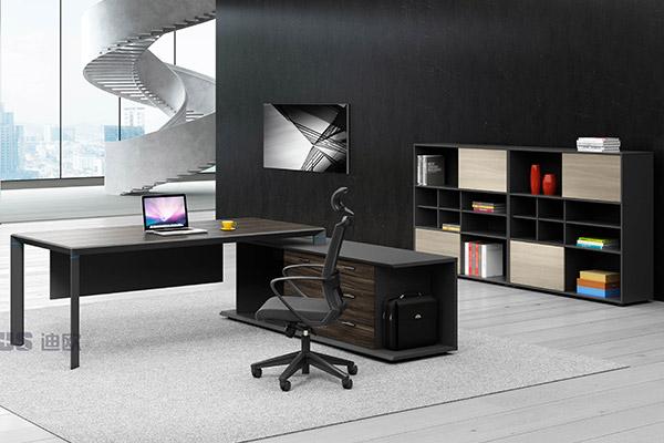 现代办公老板桌主管桌办公室办公桌椅-金钻